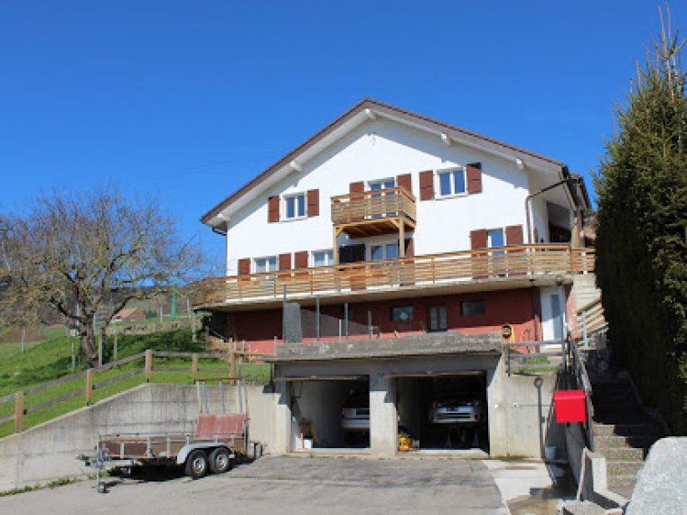 Habitation de 2 logements avec vue sur le lac de Gruyère