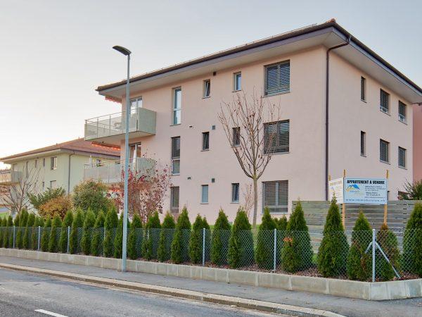 Appartement 3.5 pièces au rez-de-chaussé moderne et spacieux à Moudon